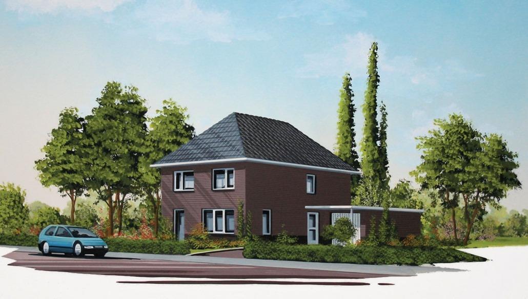 vrijstaande woning model patrijs accent bouw wonen b v