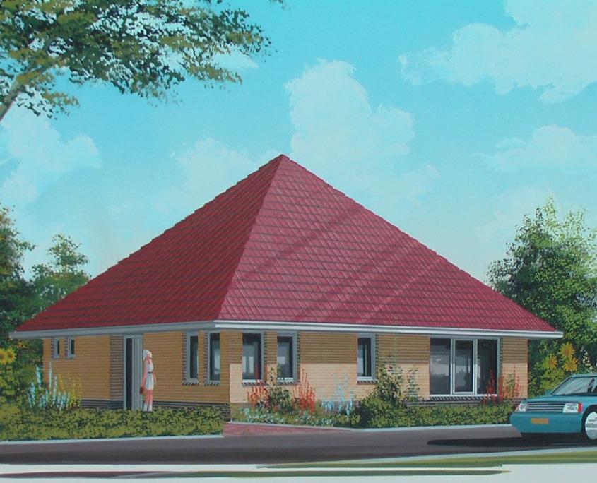 Vrijstaande woning model stern accent bouw wonen b v for Catalogus woning bouwen
