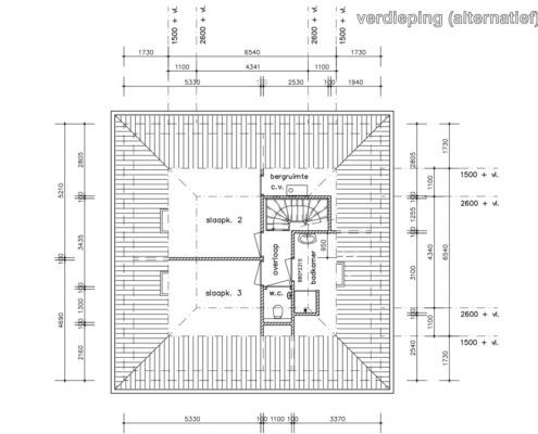 Stern verdieping (alternatief)