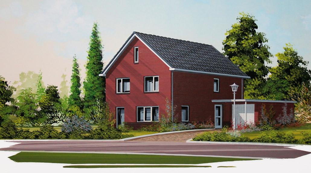 Vrijstaande woning model specht accent bouw wonen b v for Catalogus woning bouwen